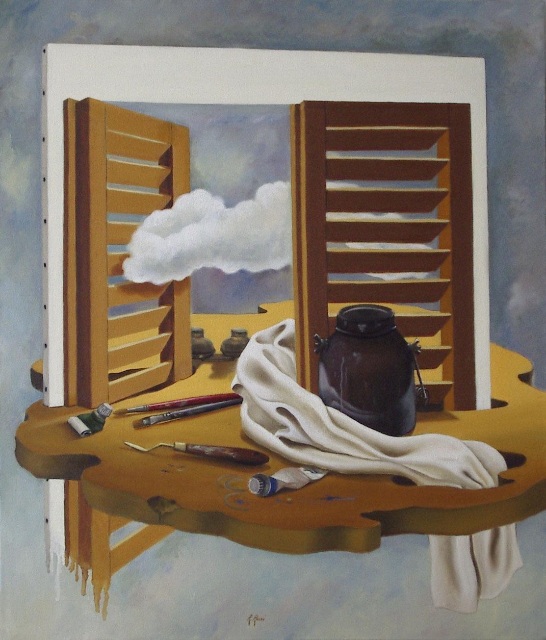 2005 roberta rossi - La mia avventura nell arte - olio su tela - 70 x 60