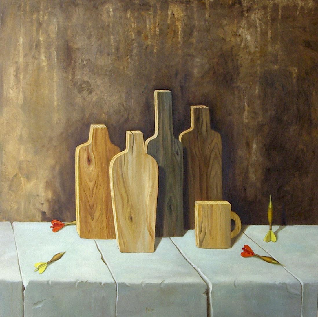 2006 roberta rossi – Bersagli – olio su tela – 70 x 70
