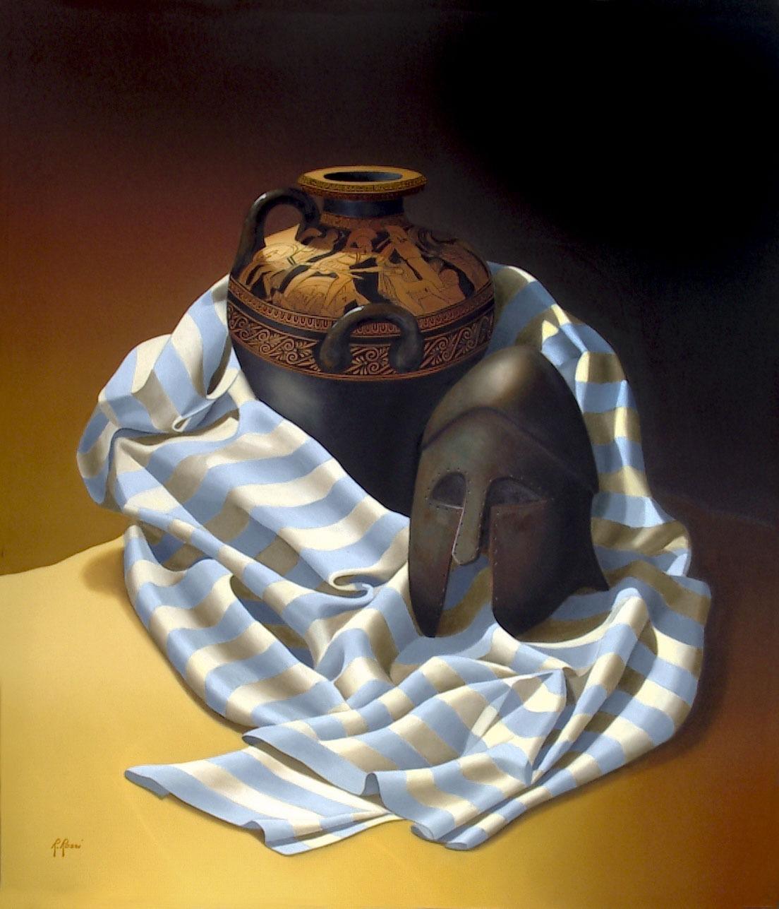 2007 roberta rossi - Aiace e Cassandra - olio su tela - 70 x 60