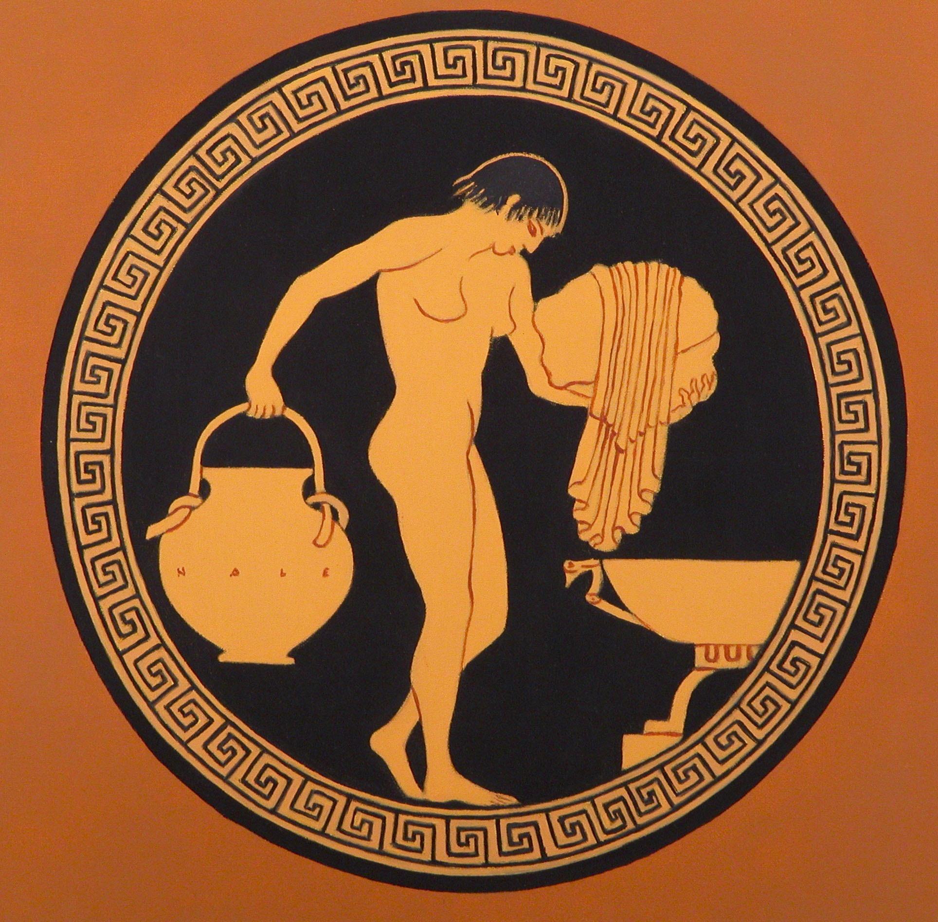 2007 roberta rossi – Figura femminile – olio su tavola – 25 x 25