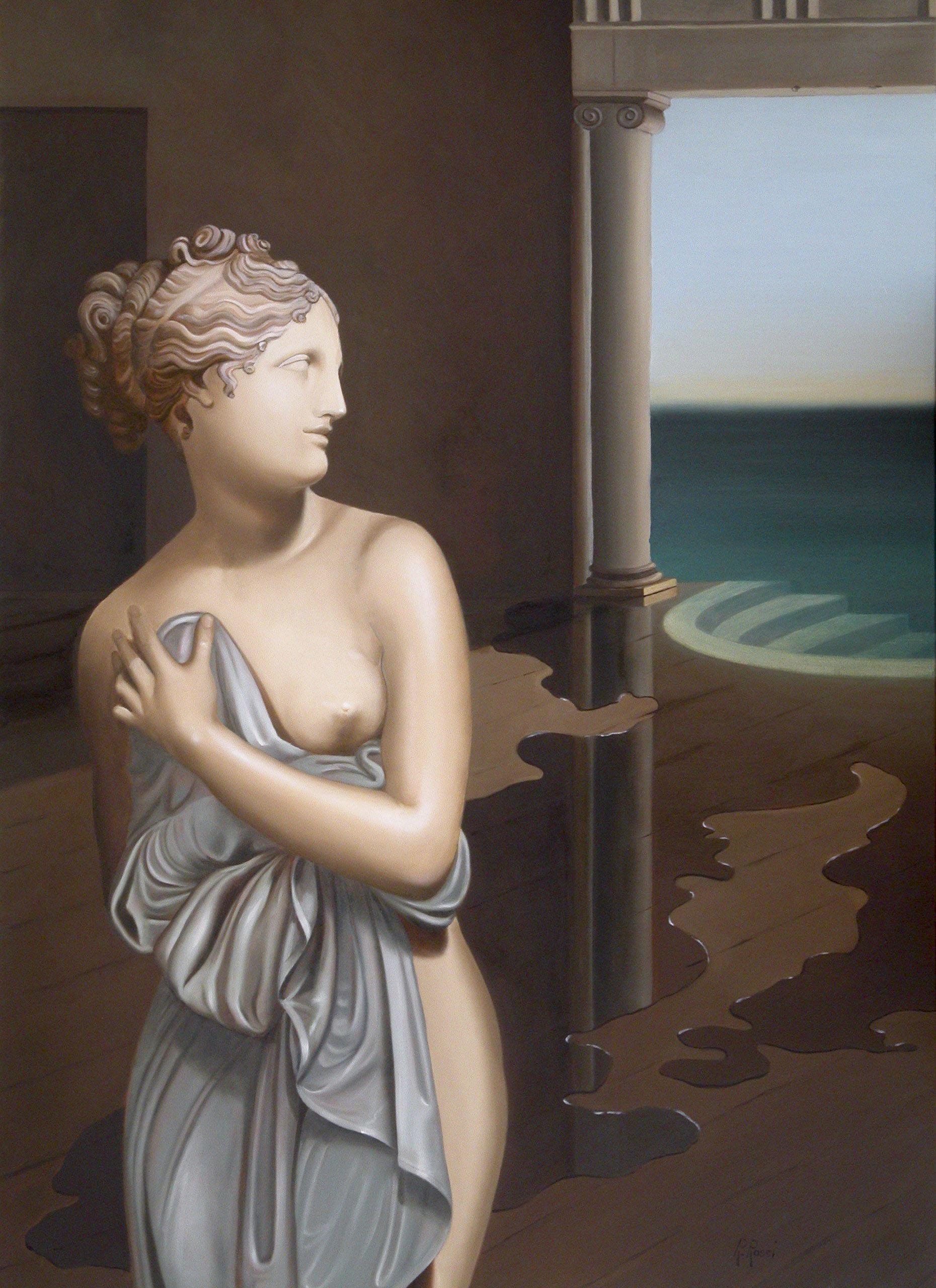 2007 roberta rossi - La stanza di Afrodite - olio su tela - 70 x 50