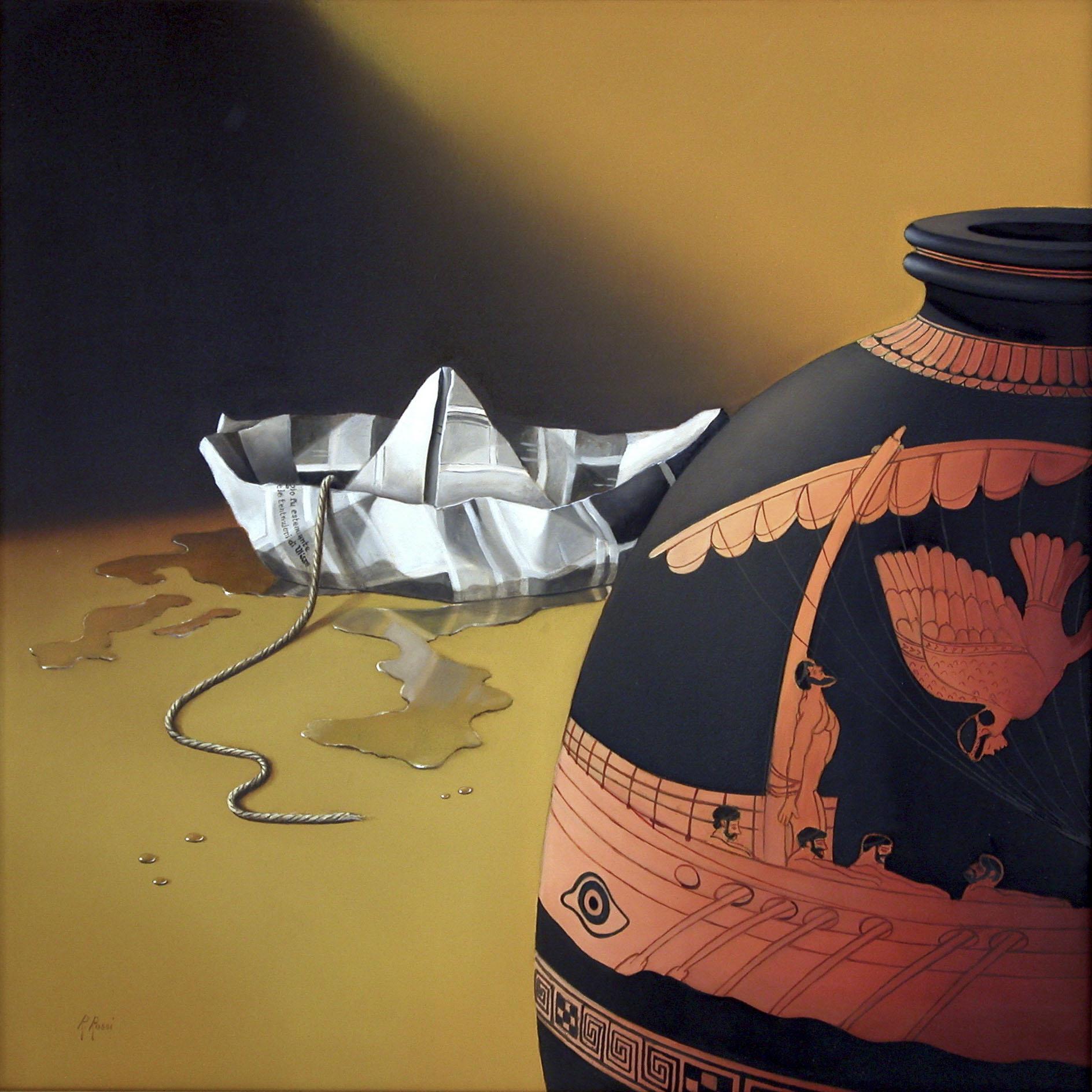 2007 roberta rossi – Le tentazioni di Ulisse – olio su tela – 60 x 60