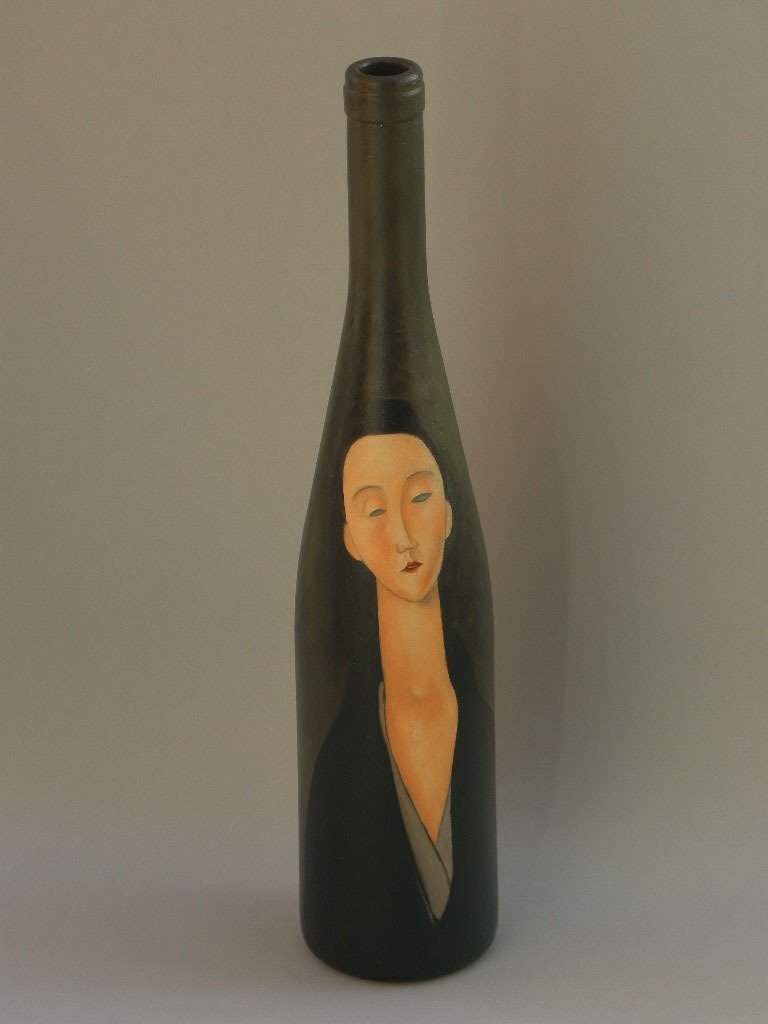 2010 roberta rossi - lunia czechowska - olio su vetro