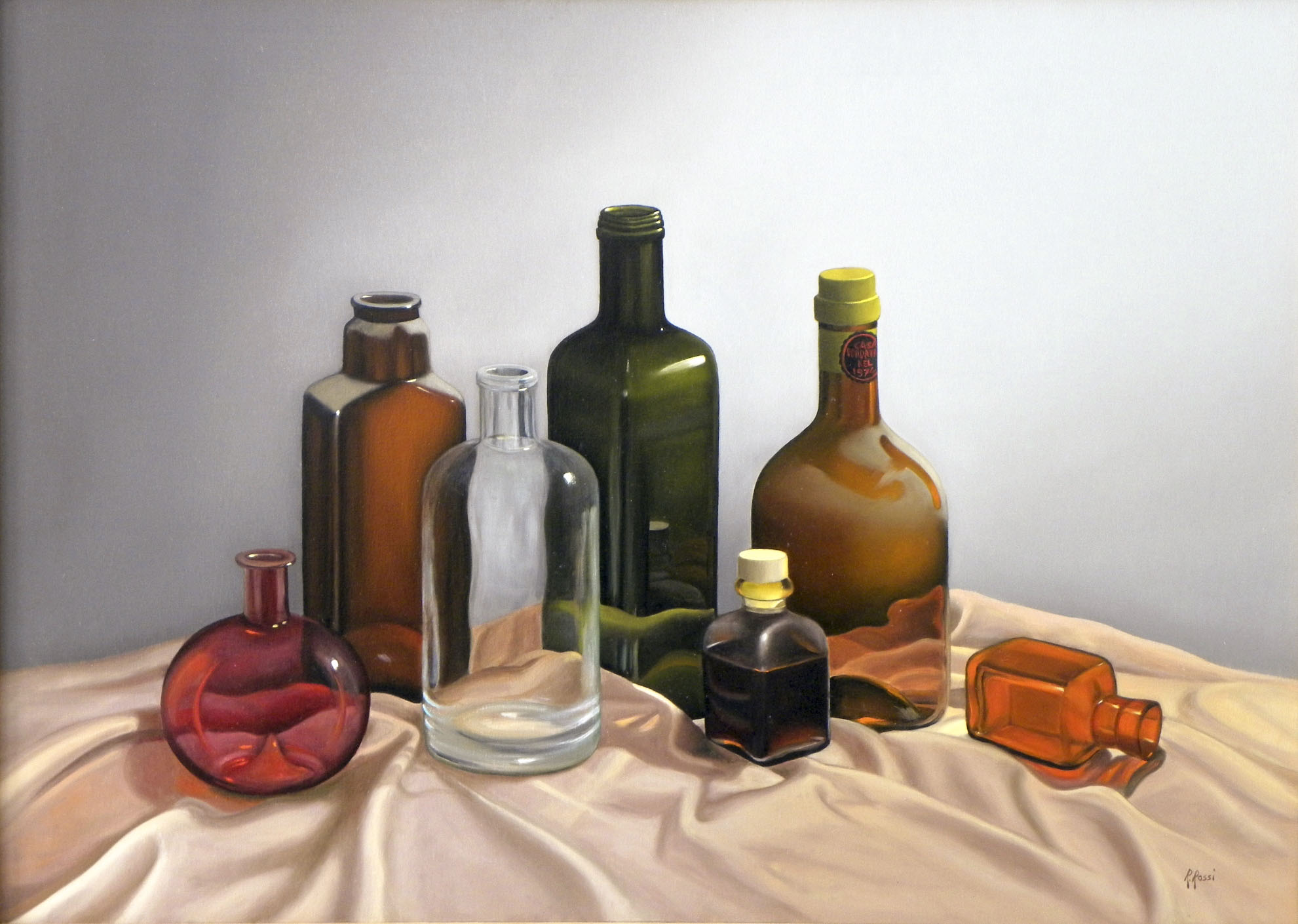 2011 roberta rossi - il coro - olio su tela - 50 x 70