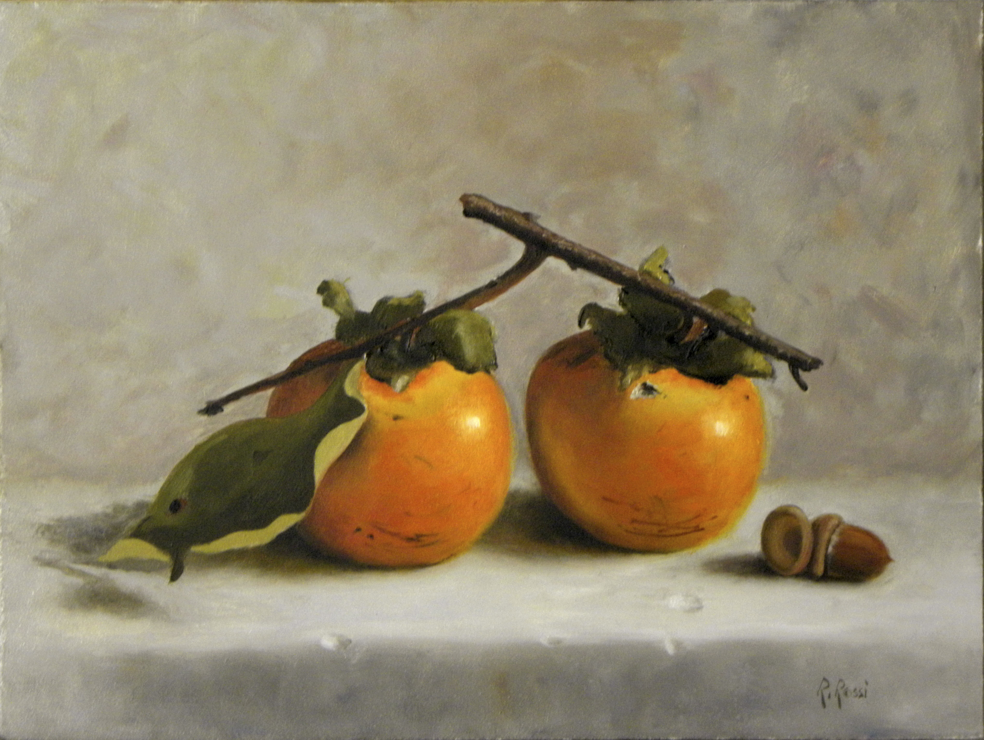 2012 roberta rossi - dolce autunno - olio su tela - 18 x 24