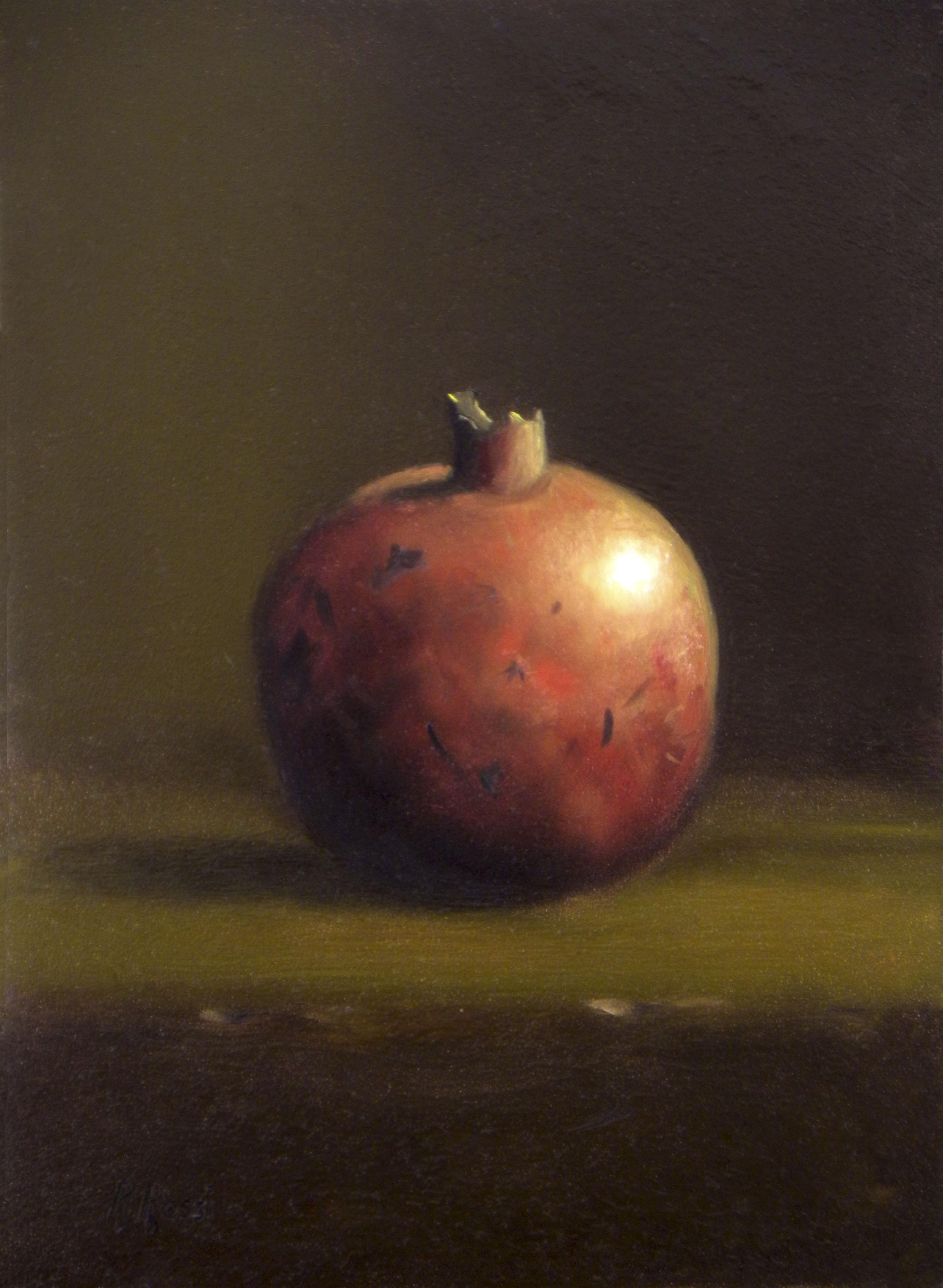 2015 roberta rossi - il frutto dell'abbondanza - olio su tavola - 18 x 13